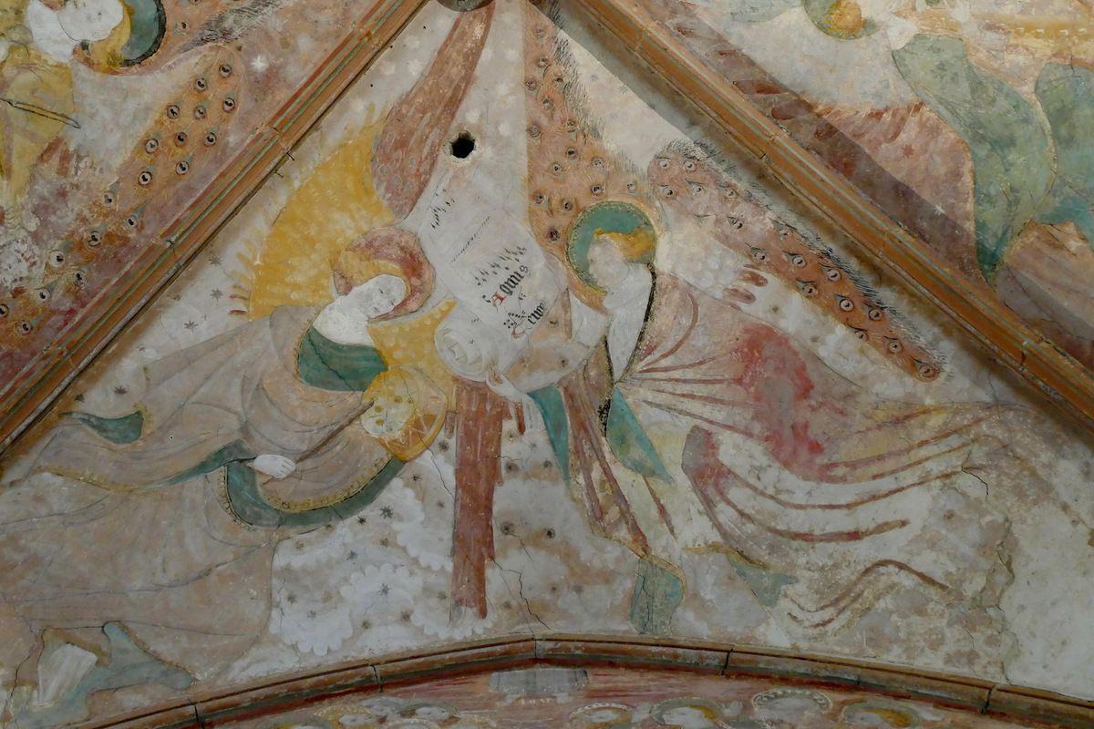 Voûtain IV, au sud. Transept nord, église Notre-Dame de Kerascléden. Photographie lavieb-aile.