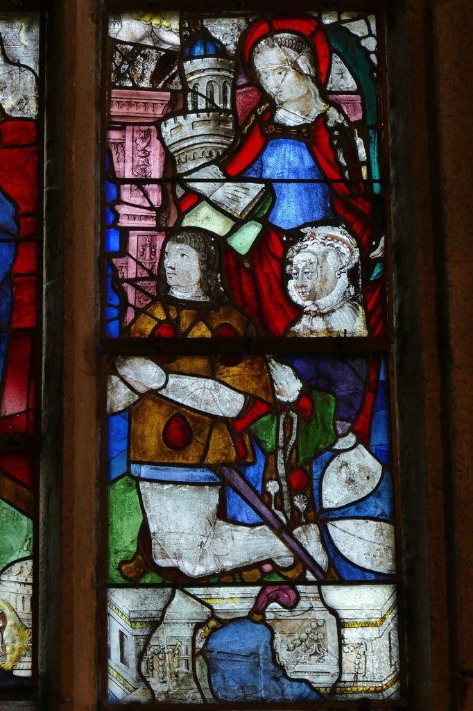 Lancette C, Baie 3, Transept nord, chapelle Sainte-Barbe, Le Faouët, photographie lavieb-aile.