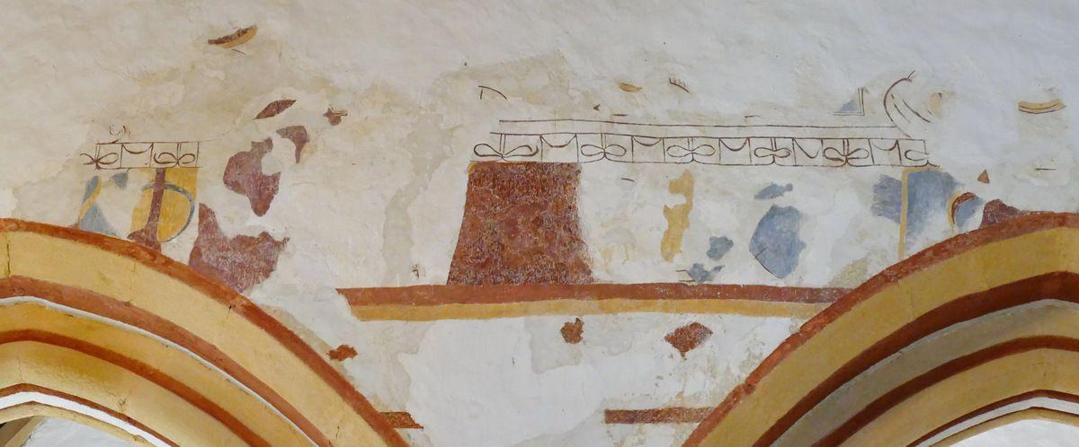 Cène, ou Repas chez Simon, Croisée du transept sud, Chapelle de Locmaria er Hoët, Landévant. Photographie lavieb-aile.