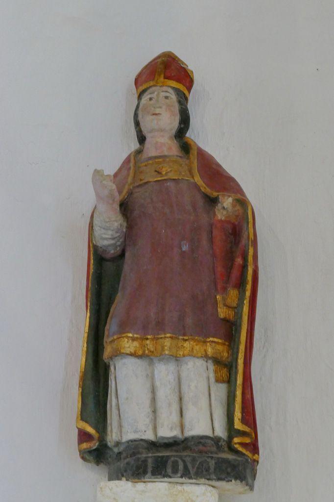 Saint Augustin et saint Louis,  Chapelle de Locmaria er Hoët, Landévant. Photographie lavieb-aile.
