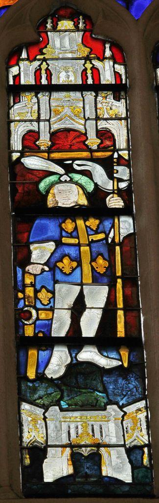 Lancette C. Saint Maurice. Baie 113, cathédrale Saint-Corentin de Quimper, photographie lavieb-aile.