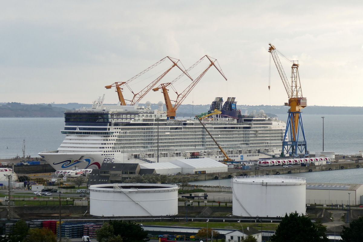 NORWEGIAN EPIC, le 15 octobre 2015, Photographie lavieb-aile.