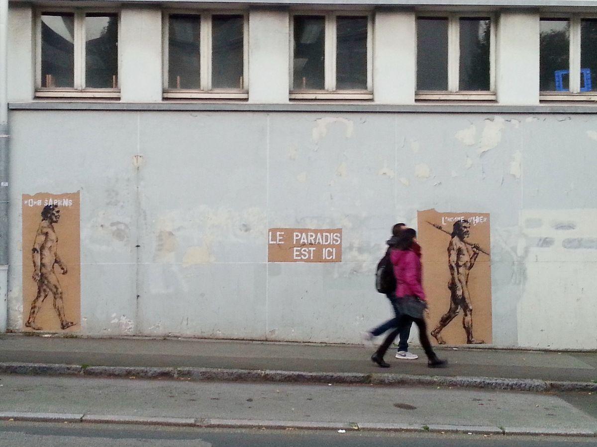 Le PARADIS, Rue de l'Harteloire, 19 octobre 2015, photographie lavieb-aile.
