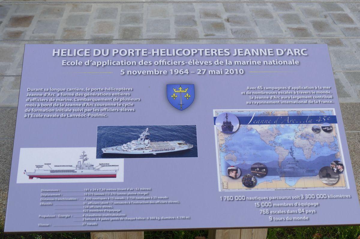 Hélice de la Jeanne-d'Arc, plage de Morgat, Crozon, photographie lavieb-aile.