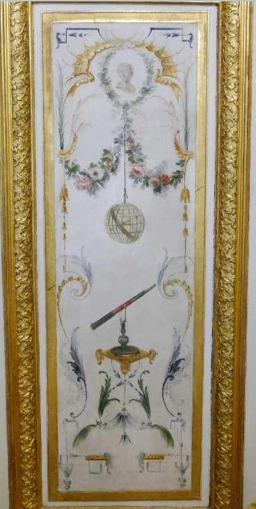 Porte du fond, Grande Singerie, château de Chantilly, photographie lavieb-aile.