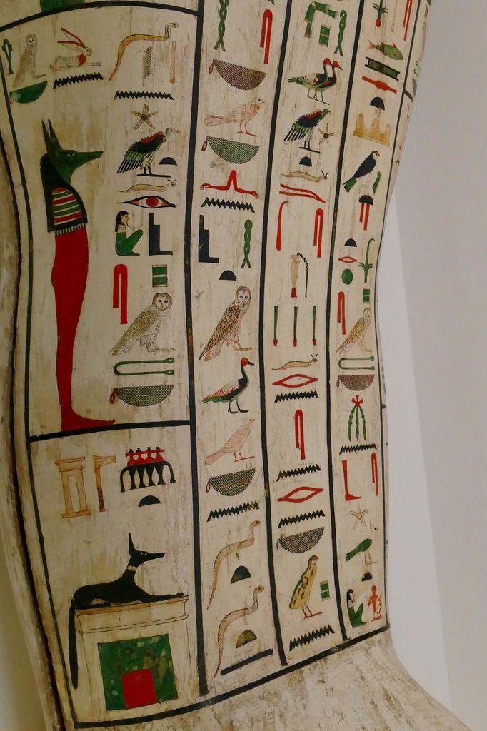 Cercueil de Psamétique, Collections égyptiennes du Musée de Grenoble, photographie lavieb-aile.