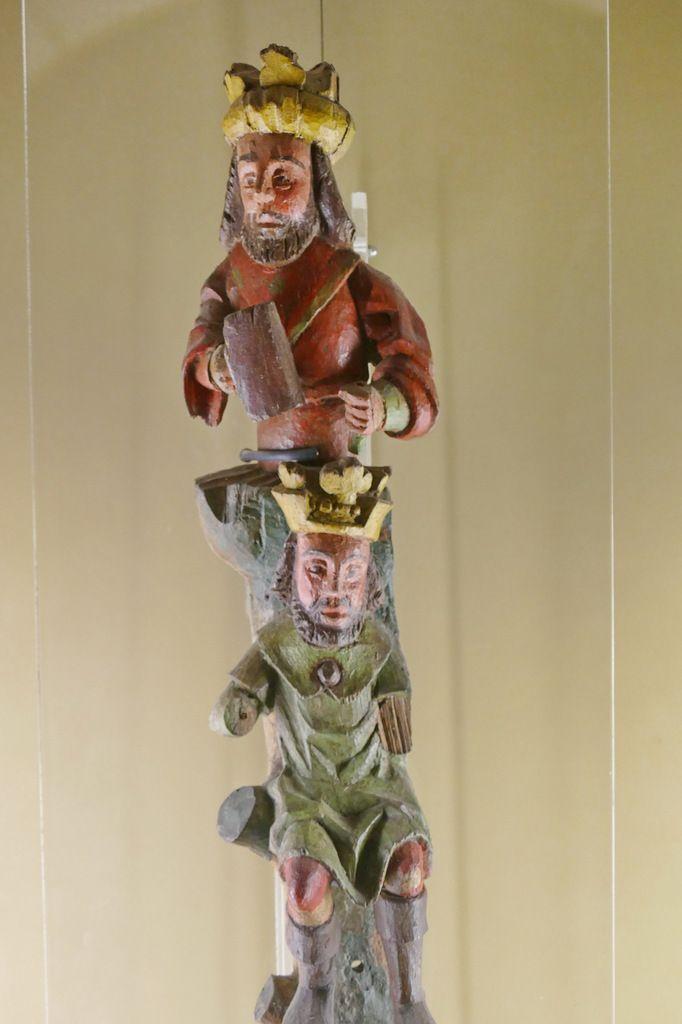 Rois de Juda, fragments de l'Arbre de Jessé de Plouégat-Moysant, XVIe siècle, photographie lavieb-aile.