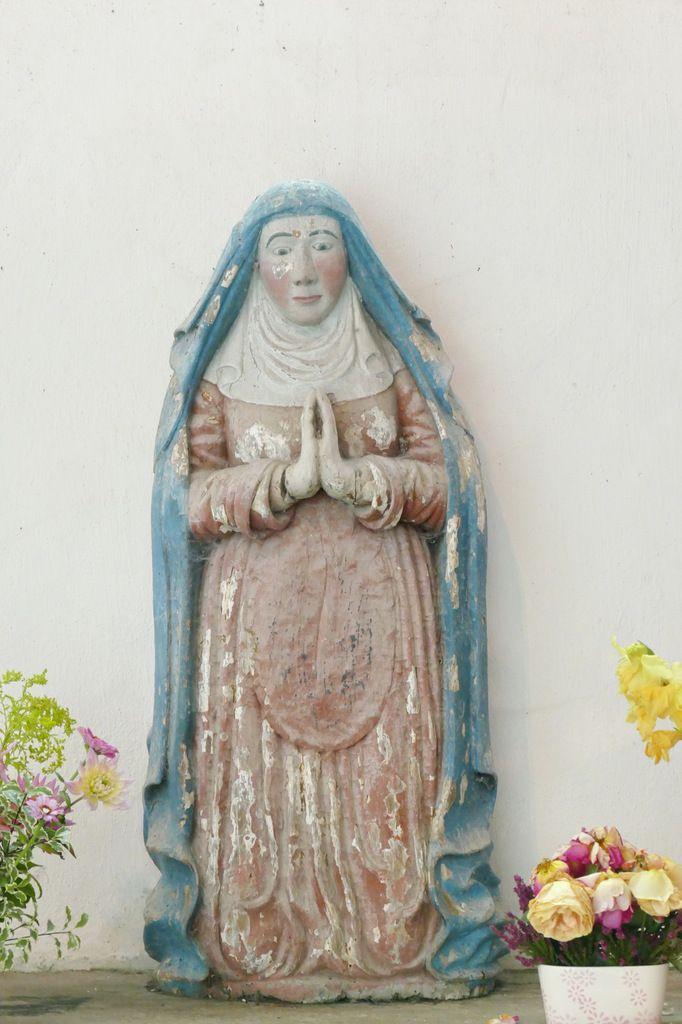 Sainte Anne, chapelle saint-Fiacre, Le Faouët, photographie lavieb-aile.