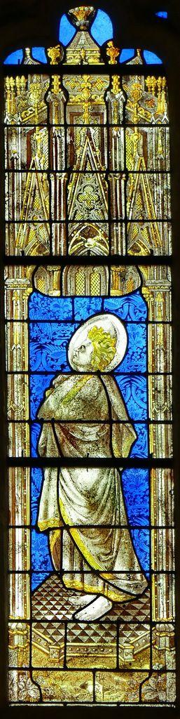 Saint Jean, Baie d'axe n°100, Chœur de la cathédrale de Quimper. Photographie lavieb-aile.