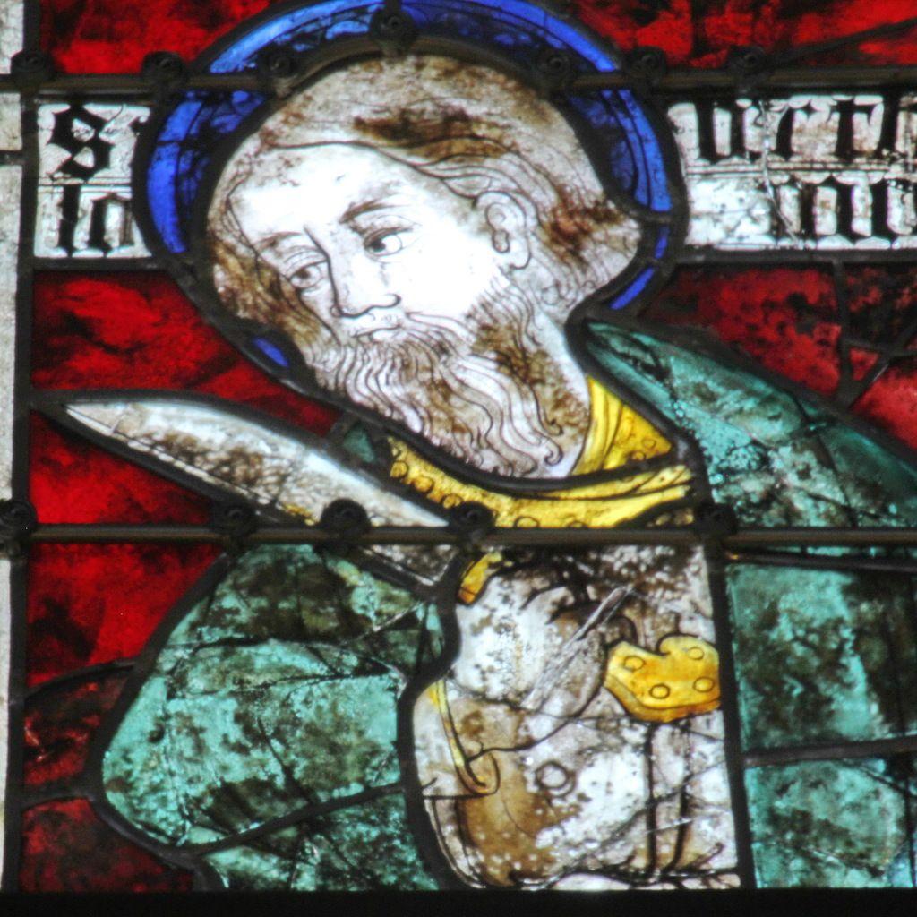 Lancette C, baie 106, chœur de la cathédrale de Quimper, photographie lavieb-aile.