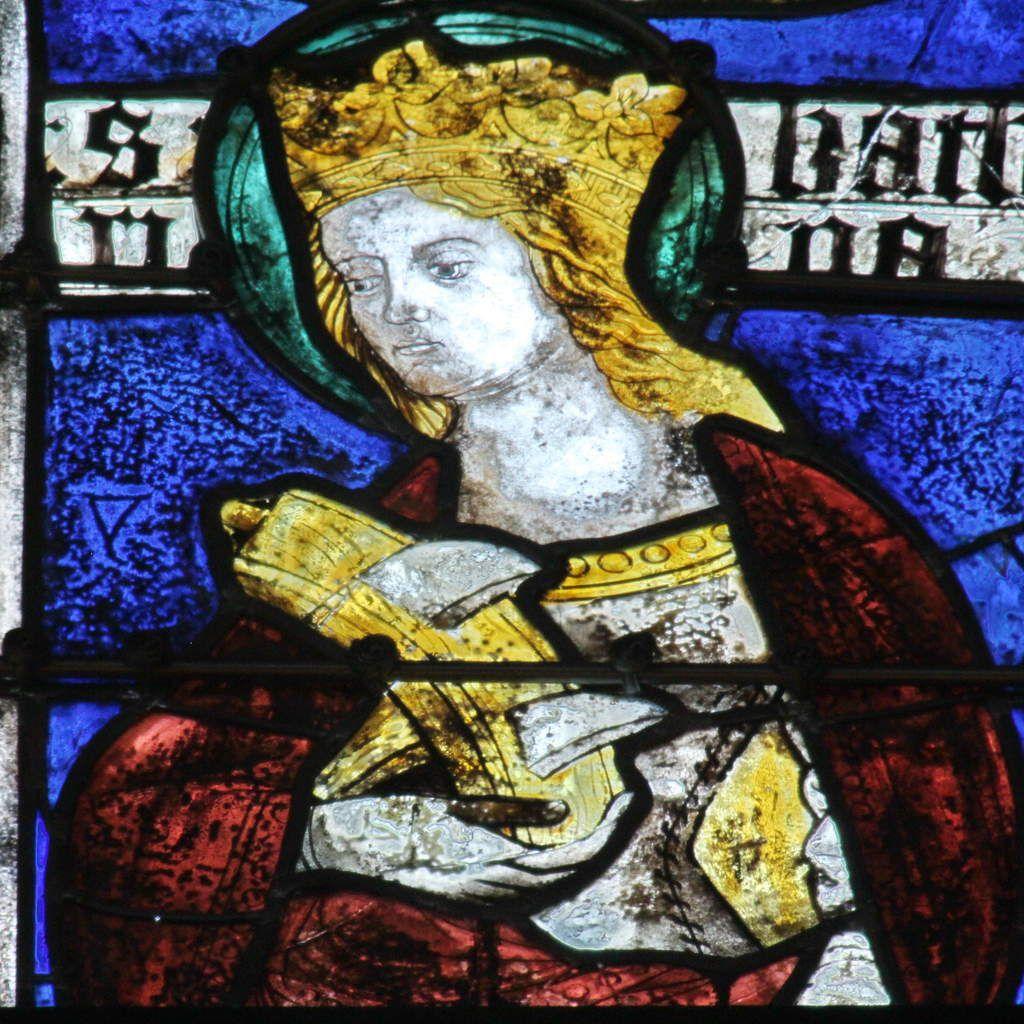 Lancette D, baie 106, chœur de la cathédrale de Quimper, photographie lavieb-aile.