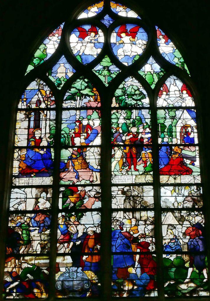 Baie n°19, église Saint-Étienne de Beauvais, photographie lavieb-aile.