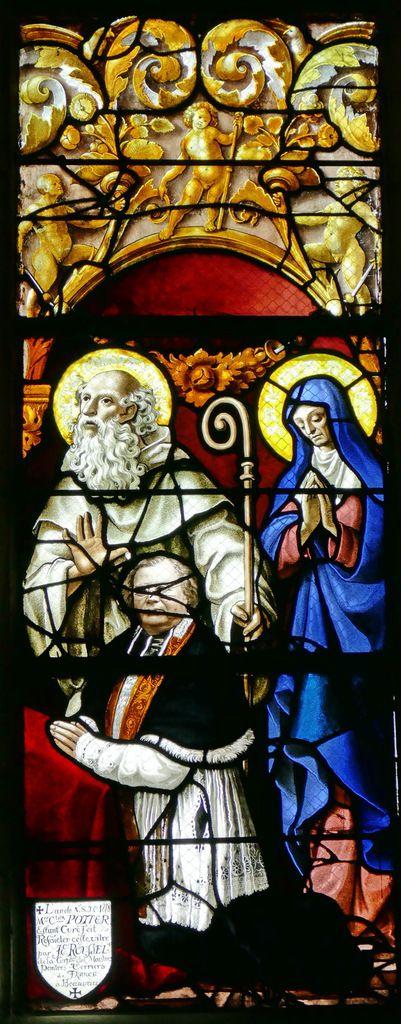 Lancette D, registre inférieur, baie n°6 du Jugement Dernier, église Saint-Étienne de Beauvais, photographie lavieb-aile.