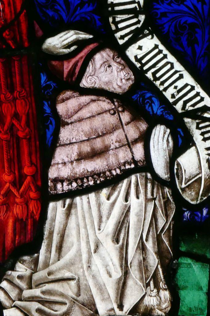 Nicolas Wolfach , baie n°7 , Arbre de Jessé et Vie de la Vierge (1466), église Saint-Dominique, Saint-Thann. Photographie lavieb-aile.