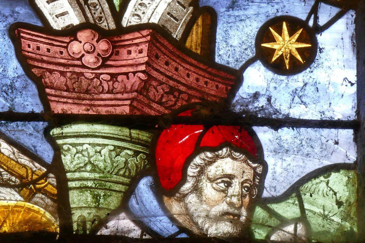 Joseph, Adoration des Mages , chapelle Notre-Dame-du-Crann, Spézet, photographie lavieb-aile.