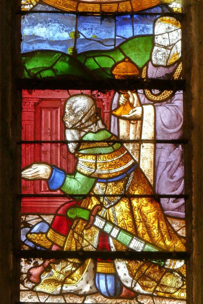 Melchior, Adoration des Mages , chapelle Notre-Dame-du-Crann, Spézet, photographie lavieb-aile.