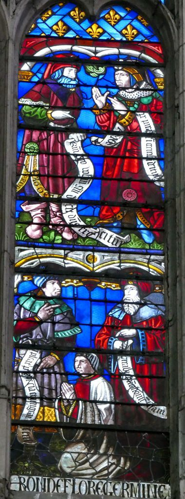 Hémi-lancette D,  Arbre de Jessé, cathédrale de Sens, photographie lavieb-aile.