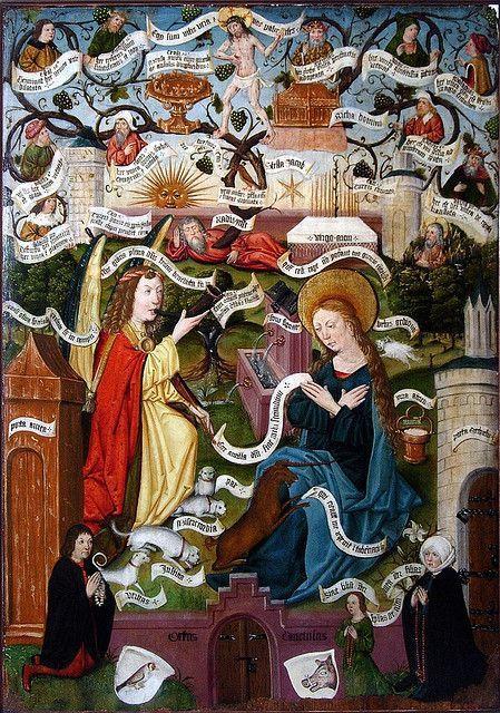 Chasse mystique et Vigne de Jessé, Collection W. Steinmetx, Darmstadt.