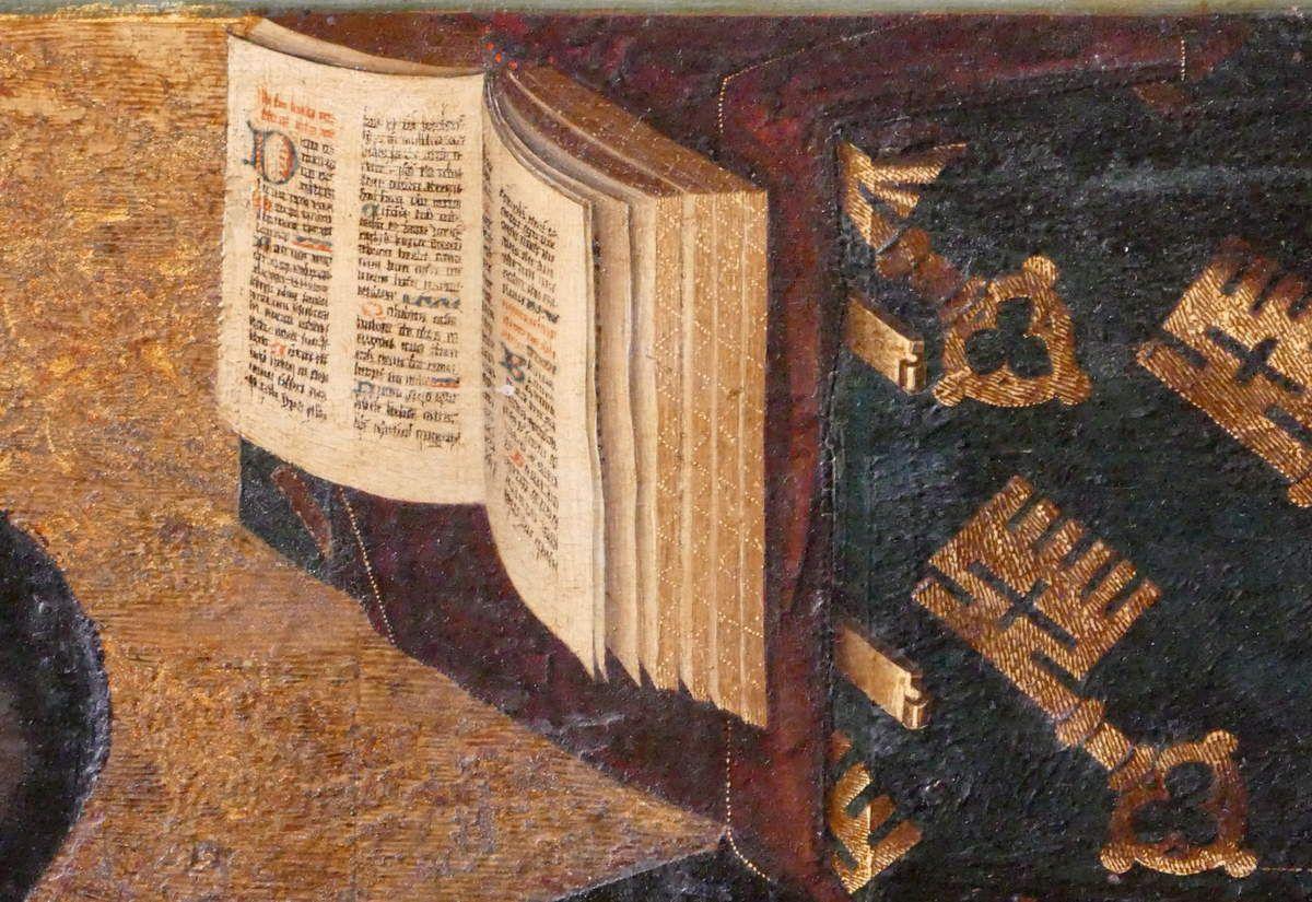 Livre d'Heures de Nicolas Rolin, volets du Polyptyque du Jugement Dernier, Hospices de Beaune, photographie lavieb-aile.