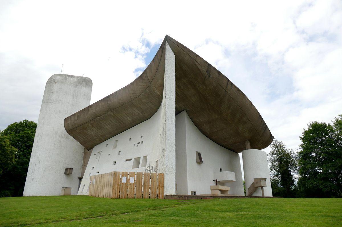 Chapelle Notre-Dame-du-Haut, Ronchamp , photographie lavieb-aile.