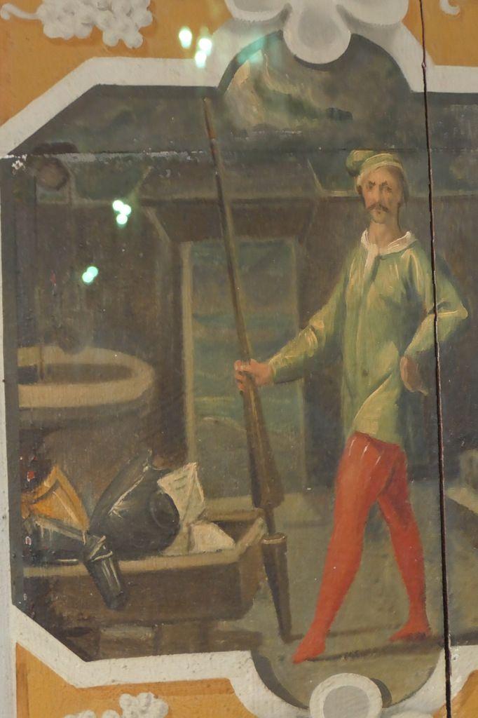 La veillée des armes, Jean Mosnier, 34 huiles sur bois (vers 1630-1640), château de Cheverny, photographies lavieb-aile.