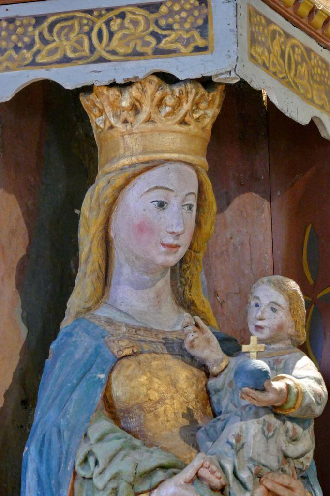 Notre-Dame de Breac-Ellis, église de Brennilis. Photographie lavieb-aile.