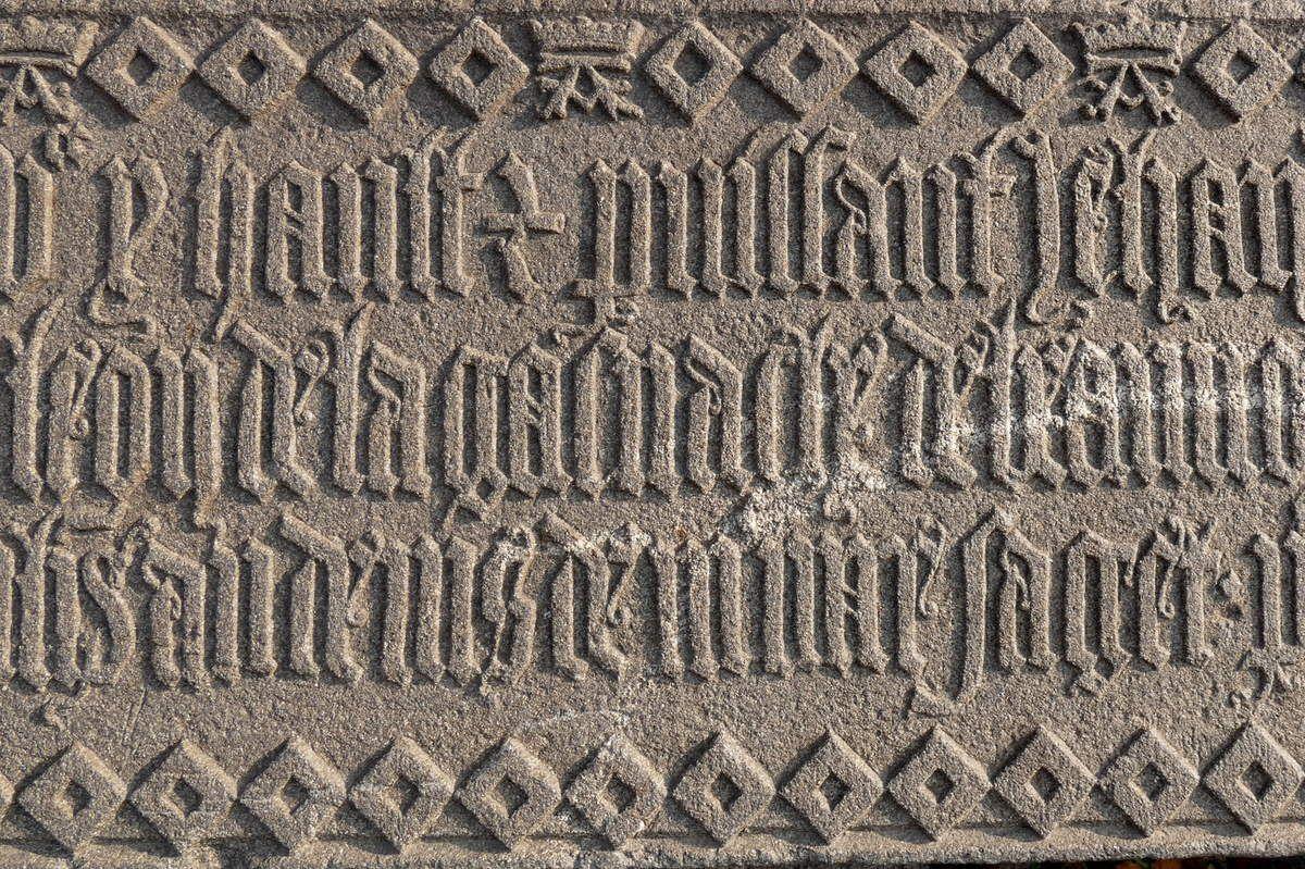 Inscription de fondation du pont de Landerneau (1510), photographie lavieb-aile.