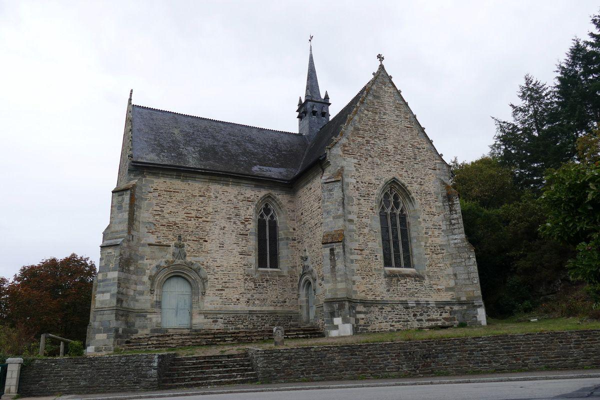 Chapelle Notre-Dame-de-Bonne-Encontre, Rohan. Photographie lavieb-aile.