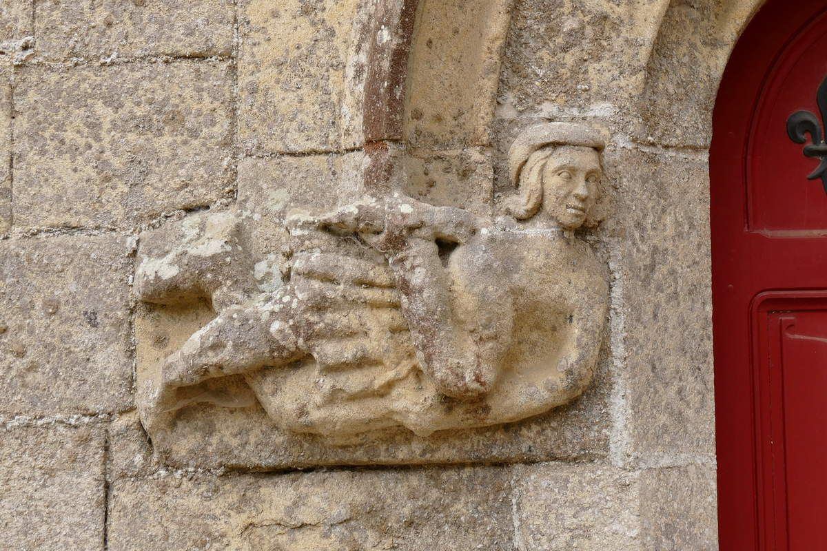 Porte P5 du château de Josselin .  Photographie lavieb-aile.
