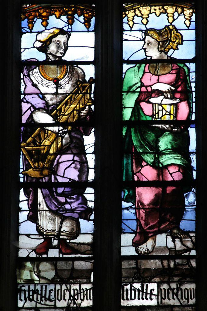 Baie 323 . Cathédrale Saint-Pierre de Beauvais, photographie lavieb-aile.