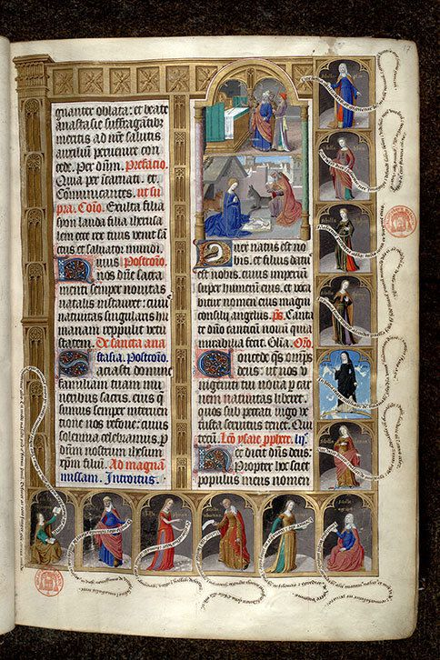 Mazarine Ms 0412 http://www.enluminures.culture.fr/public/mistral/enlumine_fr?ACTION=CHERCHER&FIELD_98=CONTXT&VALUE_98=%27un%20cycle%20en%20marge%20pour%20No%EBl%20%27&DOM=All