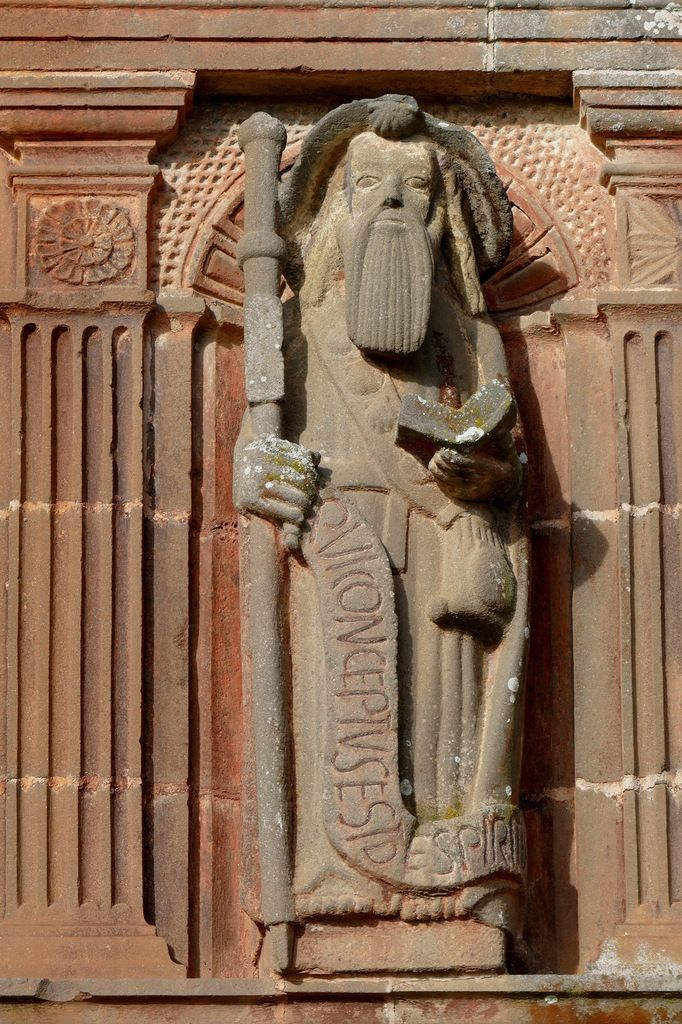Saint Jacques le Majeur. Credo apostolique de l'ossuaire de l'enclos paroissial de Sizun. Photographie lavieb-aile.