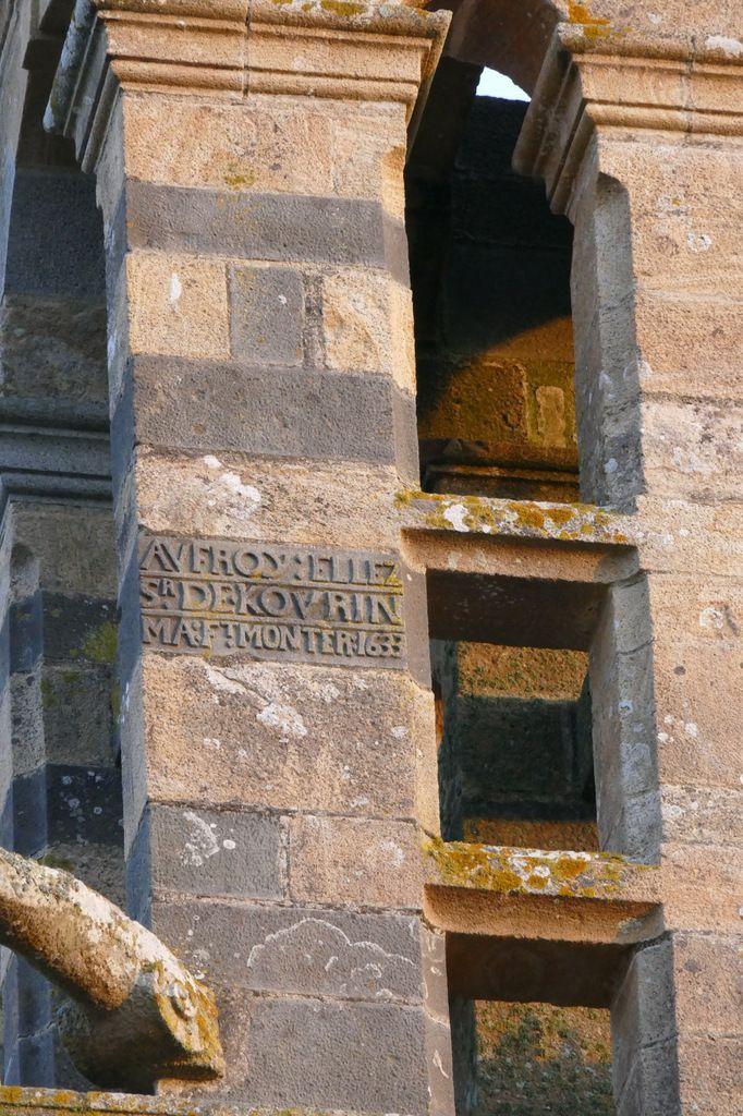 1633. Première chambre des cloches, église Saint-Sauveur, Le Faou. Photographie lavieb-aile.