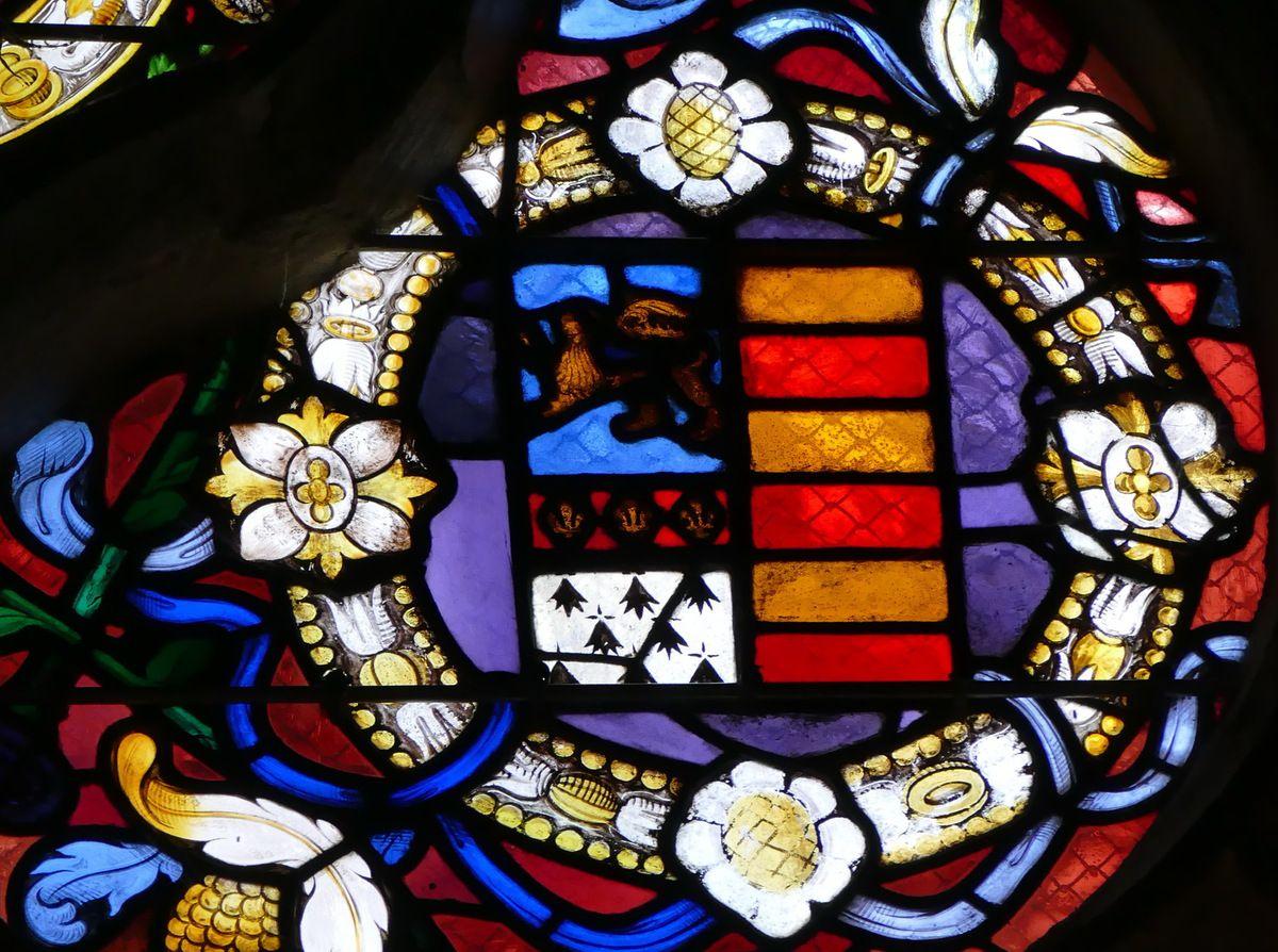 Diaporama des armoiries, église Notre-Dame de Rumengol, photographie lavieb-aile.