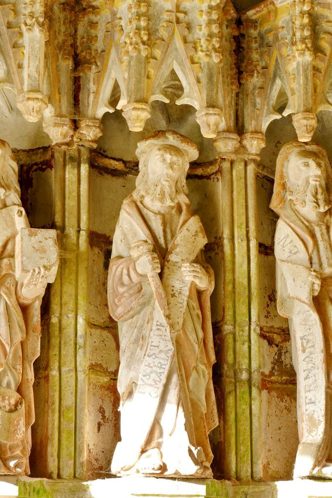 Saint Jacques le Majeur,  porche sud de l'église de Rumengol. Photographie lavieb-aile.