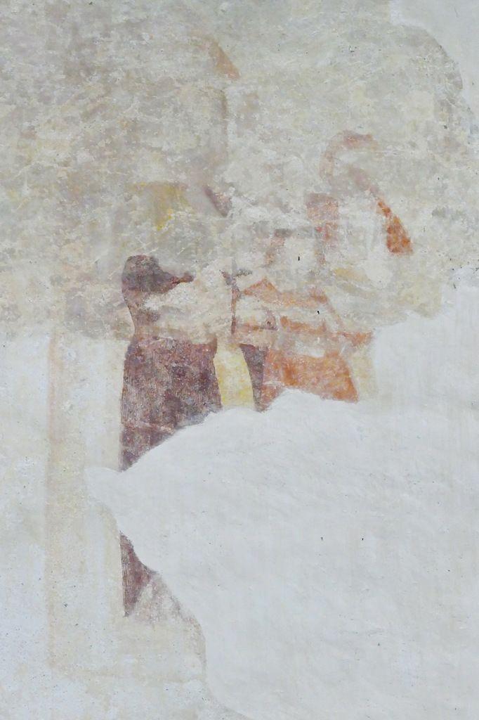 La partie du mur diaphragme visible depuis la nef. Photographie lavieb-aile.