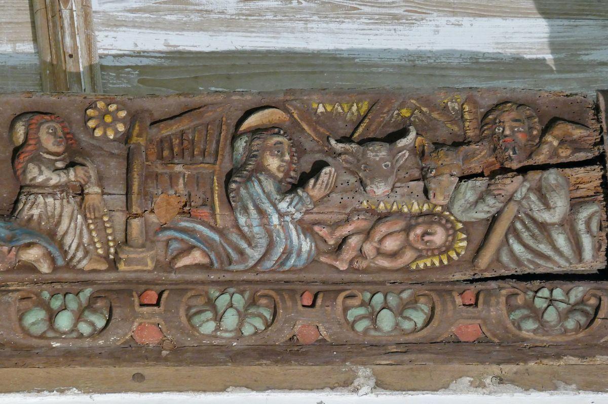L'église Saint-Salomon de La Martyre VI : les sablières.
