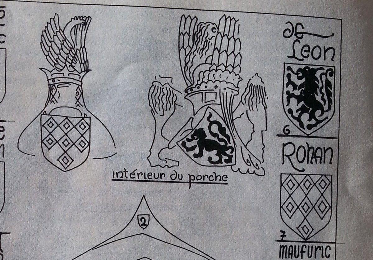 Reconstitution des armoiries par Fons de Kort.