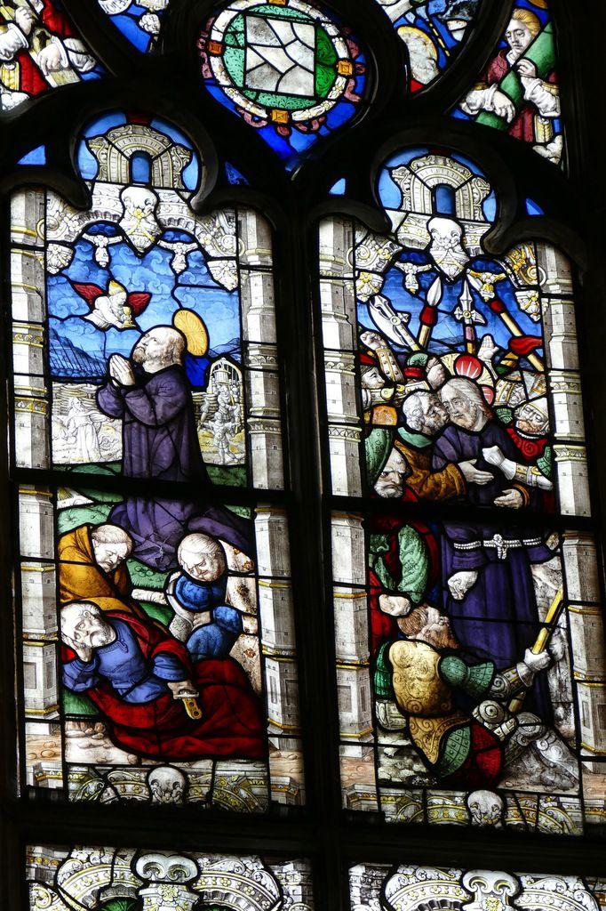 Baie 1, chœur de l'église Saint-Salomon de La Martyre. Photographie lavieb-aile.