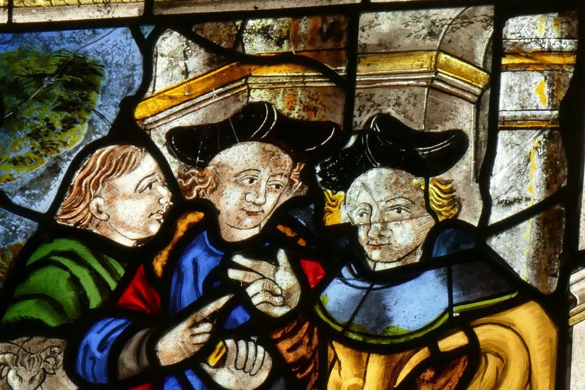 baie 2, église de La Martyre. Photographie lavieb-aile.