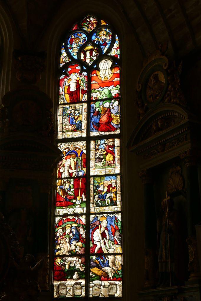 La baie 2, chœur de l'église de La Martyre. Photographie lavieb-aile.