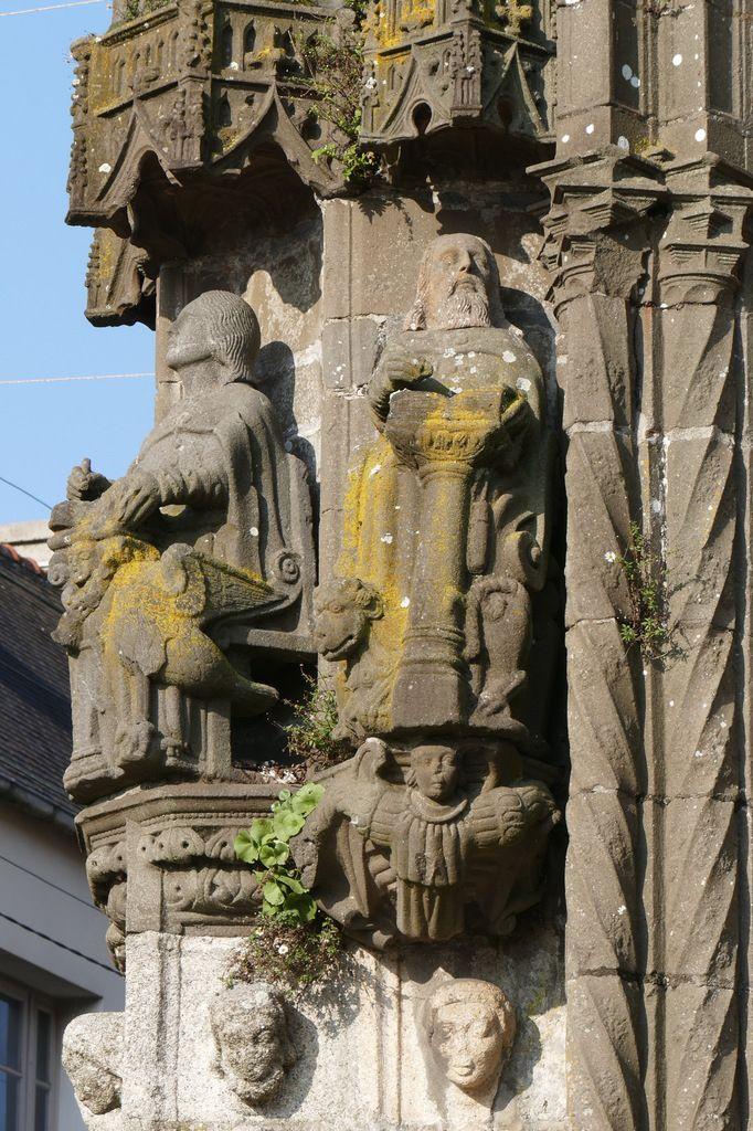 Bastien Prigent, v. 1554-1565. Saint Marc. Kersanton. Porche de l'église de Landivisiau. Photographie lavieb-aile.