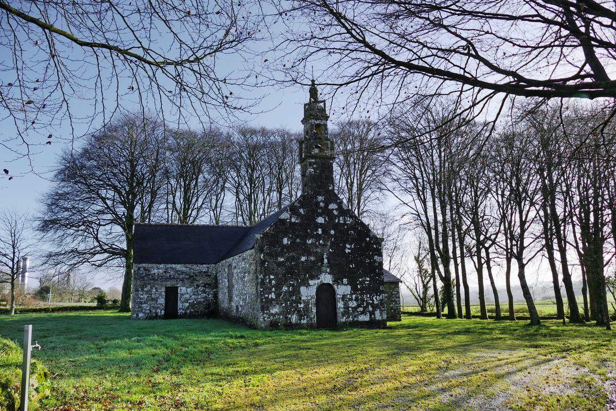 Chapelle Saint-Divy à Dirinon. Photographie lavieb-aile février 2017.