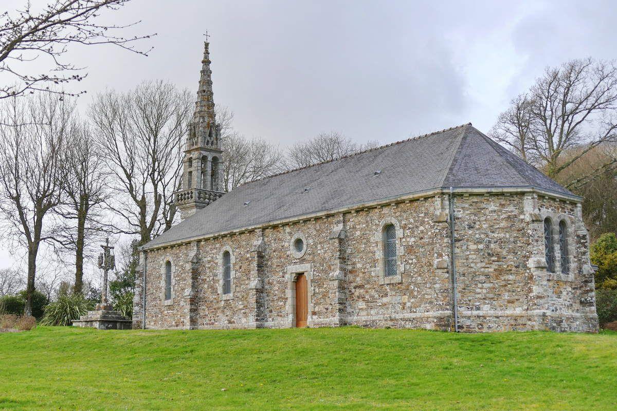Chapelle Saint-Exupère à Dinéault. Photographie lavieb-aile février 2017.