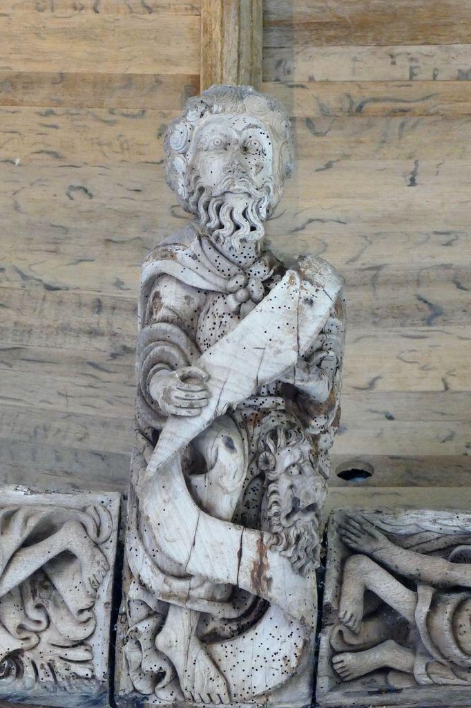Saint Marc, chevet de la chapelle de Kerjean. Photographie lavieb-aile juillet 2017.