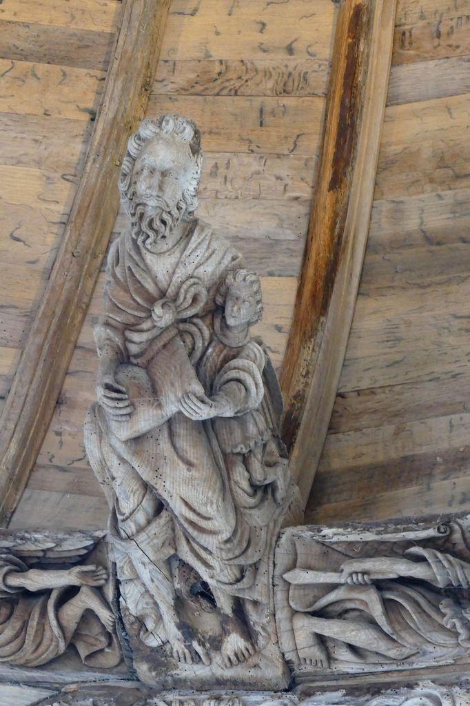 Saint Matthieu, chevet de la chapelle de Kerjean. Photographie lavieb-aile juillet 2017.