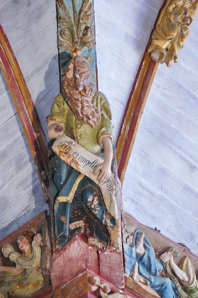 Voûte de la croisée du transept de l'église Saint-Germain de Pleyben, photographie lavieb-aile 2017.