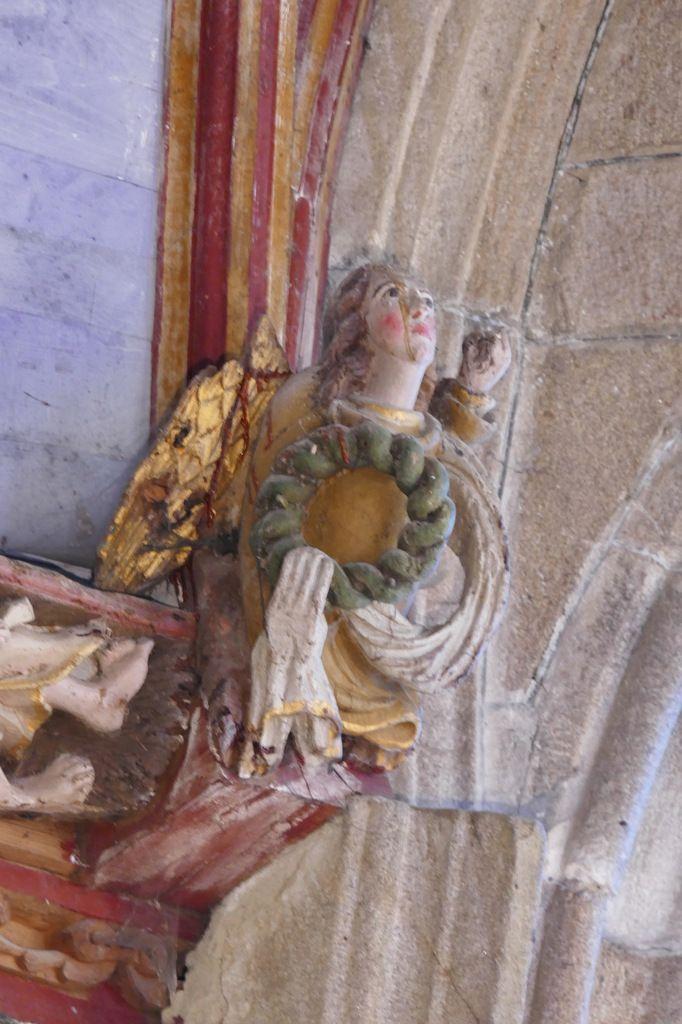 Abside du chœur de  l'église Saint-Germain de Pleyben, photographie lavieb-aile 2017.