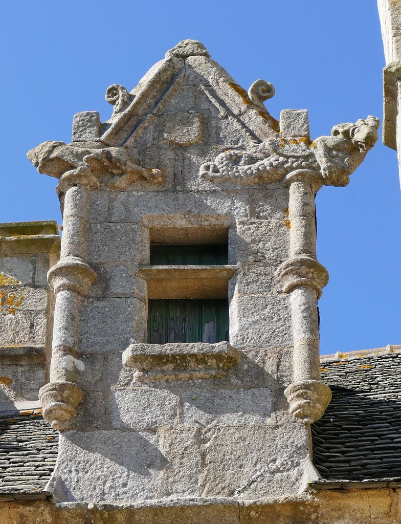 Crossettes de l'église Notre-Dame-de-Croas-Batz (1522-1545) à Roscoff. Photographie lavieb-aile juillet 2017.