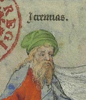 Jeremias, Grandes Heures de Jean de Berry, Gallica.